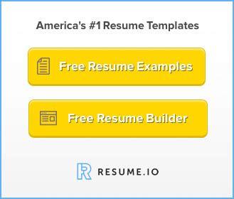 Professional resume sample word format